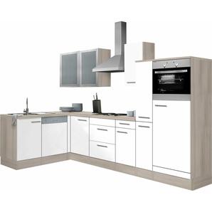 OPTIFIT Winkelküche »Kalmar«, ohne E-Geräte, Stellbreite 300 x 175 cm