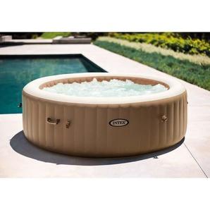 Intex 28428 Bubble Massage Pure Spa Aufblasbarer Whirlpool 216x71 Cm