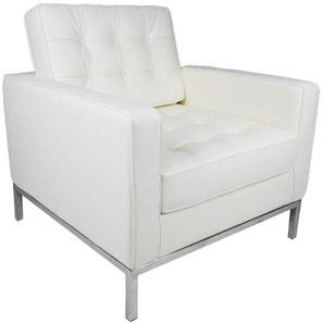 Knoll Lounge Sessel - Weiß