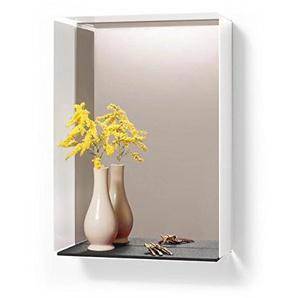 Konstantin Slawinski Mirror-Box weiß Filz grau Spiegel