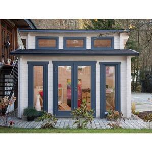 Wolff Finnhaus Holz-Gartenhaus/Gerätehaus Langeoog 58-C B x T: 480 cm x 390 cm