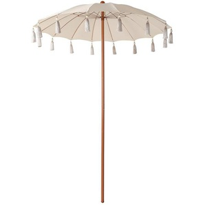 Sonnenschirm, D:180cm, natur