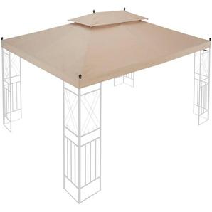 KONIFERA Ersatzdach für Pavillon »Royal«, BxL: 300x400 cm, sandfarben