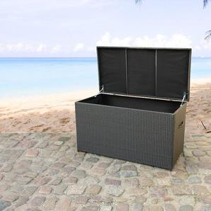 Auflagenbox Rattan braun 160 x 80 cm MODENA
