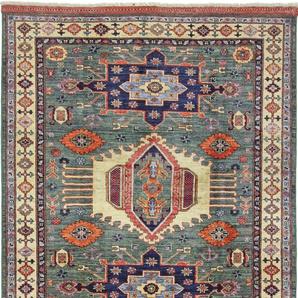 Orientteppich Afghan Ersari 185x151 Handgeknüpfter Teppich