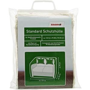 Standard Schutzhülle für Außensofa Trinidad PE-Bändchengewebe transparent 122 x 95 x 95 cm