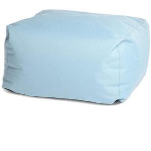 Loungehocker, 75x75x36cm, blau