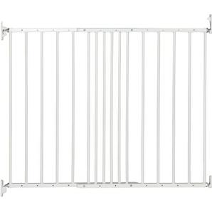 BabyDan Multidan ausziehbar Metall Sicherheit Tor (weiß)