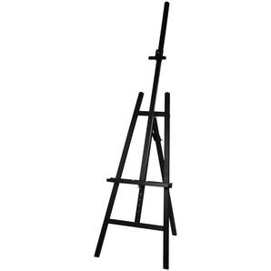 Staffelei, L:66cm x H:185cm, schwarz