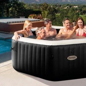 STEINBACH Set: Whirlpool »PureSpa™ Octagon Bubble Jet«, 5-tlg., ØxH: 218x71cm, mit Salzwassersystem