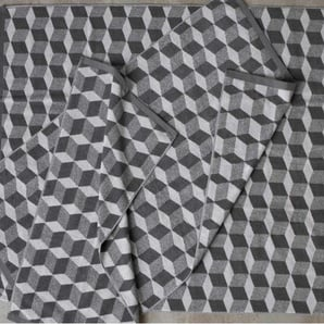 Cubus 2 x Badetuecher (70 x 125 cm), Elefantengrau