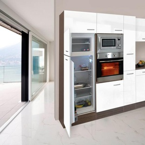 RESPEKTA Küchenzeile mit E-Geräten »York Winkelküche, Breite 370x172cm«