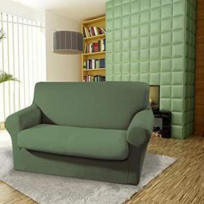 Biancheriaweb elastischer Sofabezug, Modell: Magic 3 Posti grün