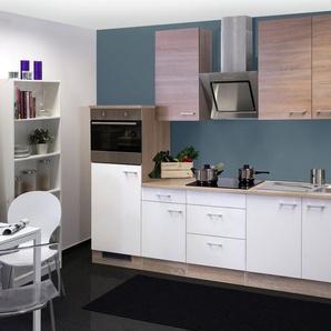 Küchenzeile mit E-Geräten »Samoa«, Gesamtbreite 270 cm