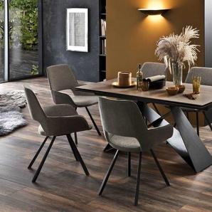 MCA Esstisch mit Auszug Esstisch mit Auszug, Eiche, Keramik