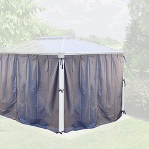 PALRAM Seitenteile für Pavillon »Martinique«, grau, 4 Stk.