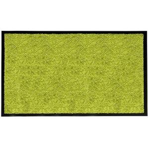 Fußmatte Schmutzfangmatte Grün 120 x 180 cm waschbar Fußabtreter - misento