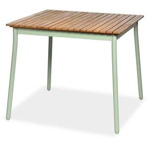 Esstisch Eukalyptus, Fsc® 100%, L:90cm x H:77cm, mintgrün
