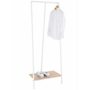 Garderobenständer, weiß, Gr. 168/65/40 cm,  home