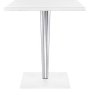 Kartell TopTop Tisch Outdoor 60x60 (l) 60 X (b) 60 X (h) 72 Cm