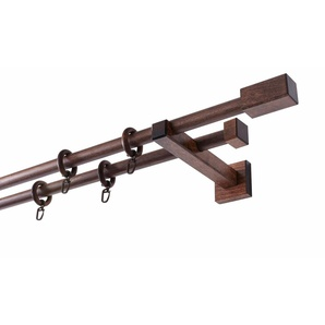 Gardinenstange »Cubus Quader«, GARESA, Ø 20 mm, 2-läufig, Wunschmaßlänge