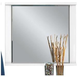CASAVANTI Spiegel DANA Hochglanz Weiß ca. 80 x 65 x 7 cm