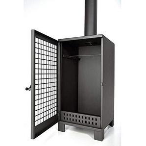 acerto 40485 Großer Terrassenofen aus Metall – zum Wärmen und Räuchern   Maße (BxHxT) = 40 x 80 x 40 cm   Material = 2mm Stahlblech   Gewicht = 26kg   Produktqualität Made in EU