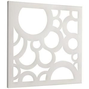 Wandgarderobe und Memoboard in Einem, weiß, Gr. 42/42/2 cm,  home