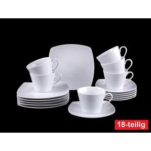 Villeroy & Boch Kaffeeservice 18 teilig SIMPLY FRESH Weiß