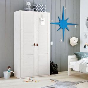 Baby-Kleiderschrank, Kiefer grau lasiert, weitere Farben & Größen bei BETTEN.de
