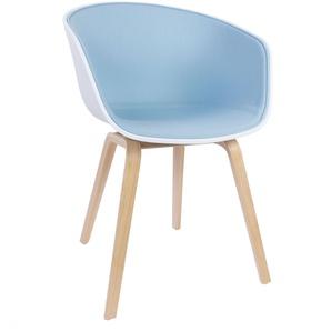 Hay About A Chair AAC22 Sitzschale: Weiß Geseifte Eiche Front Upholstery Steelcut 2: 820 Stuhl (b) 59.00 X (t) 52.00 X (h) 79.00 Cm