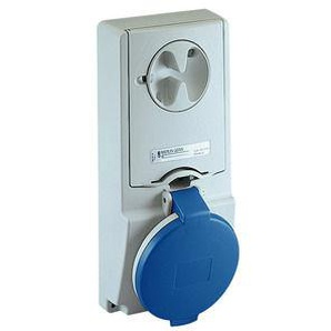 SCHNEIDER ELECTRIC Anbausteckdose verriegelt, 16A, 3p+N+E, 200-250 V AC, IP44