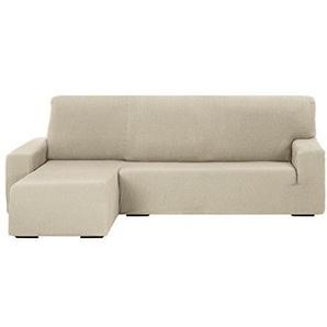 Martina Home Tunez Schutzhülle Sofa für Chaise Longue, 32x 17x 42cm kurzer linker Arm (Vorderansicht) 32x17x42 cm Elfenbein
