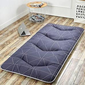 HAOLY Japanischen futon Tatami Kissen matratze verdicken,Bodenmatratze,Kissen-matratzenauflage,Anti-rutsch schlafenden Kissen Faltbare matratze-E 90x200cm(35x79inch)