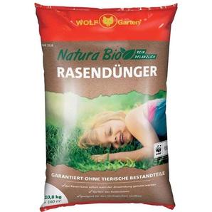 WOLF GARTEN Rasendünger »Natura Bio«, in 3 Verpackungsgrößen