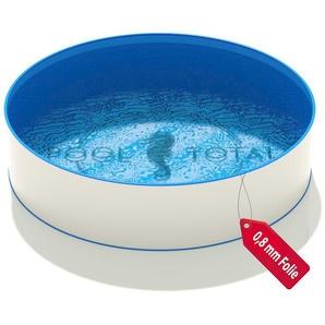 Rundbecken Ø 3,50 x 0,90 m, Folie blau 0,8 mm KB - MTH