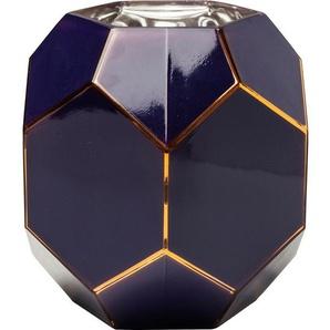 KARE DESIGN Vase ART Pastell Glas Nachtblau