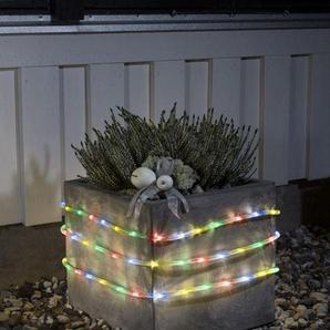 KONSTSMIDE LED Lichterschlauch mit Lichtsensor und Timer