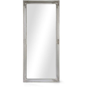 Spiegel Luzern im Antik-Stil, 72x162x3cm, silber