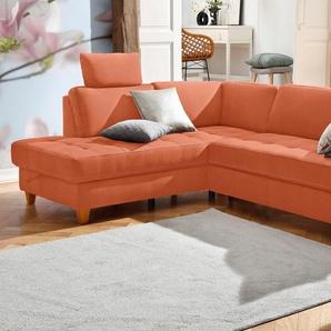 Home Affaire Ecksofa »Earl«, orange
