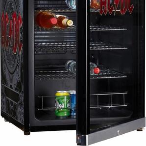 Kühlschrank, 83,5 cm hoch, 54,5 cm breit, Energieeffizienz: A+, schwarz, Energieeffizienzklasse: A+, CUBES