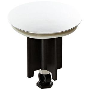 WENKO 21421100 Waschbeckenstöpsel Pluggy® XL Shining - Abfluss-Stopfen, fluoreszierend, für alle handelsüblichen Abflüsse, Kunststoff, 6.2 x 6.6 x 6.2 cm, Mehrfarbig