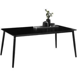 Ambia Garden: Tisch, Schwarz, B/H/T 182 75 102