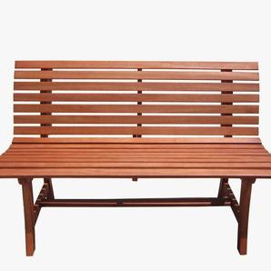 Gartenbank »Moreno«, Eukalyptus, 140x67x93 cm, braun
