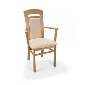 Armlehnenstuhl Senator Eiche beige NIEHOFF 1312 Niehoff-Sitzmöbel