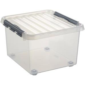 Sunware Aufbewahrungsboxen »26 Liter«, mit Rollen, 2er Set