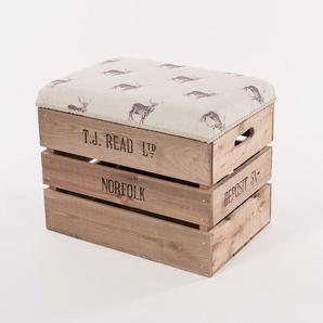 Sitzhocker Apple Crate