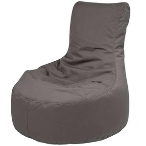 Outdoor Sitzsack in Grau Lounge