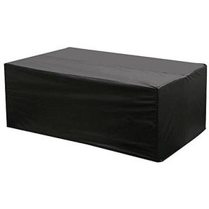 Yaheetech Abdeckung Abdeckplane Abdeckhaube Schutzhülle für Sitzgarnituren, Gartentische und Gartenmöbel (168 * 93 * 69cm) schwarz