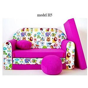 Kindersofa, Kindermöbel, Kinderzimmer, Sitzsack, Mini Sitzsack,Konvertiert in ein Mini-Sofa-Bett